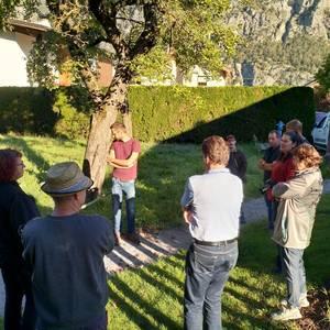 Besprechung der Flächen in der Gemeinde Silz. Foto: Regio Imst